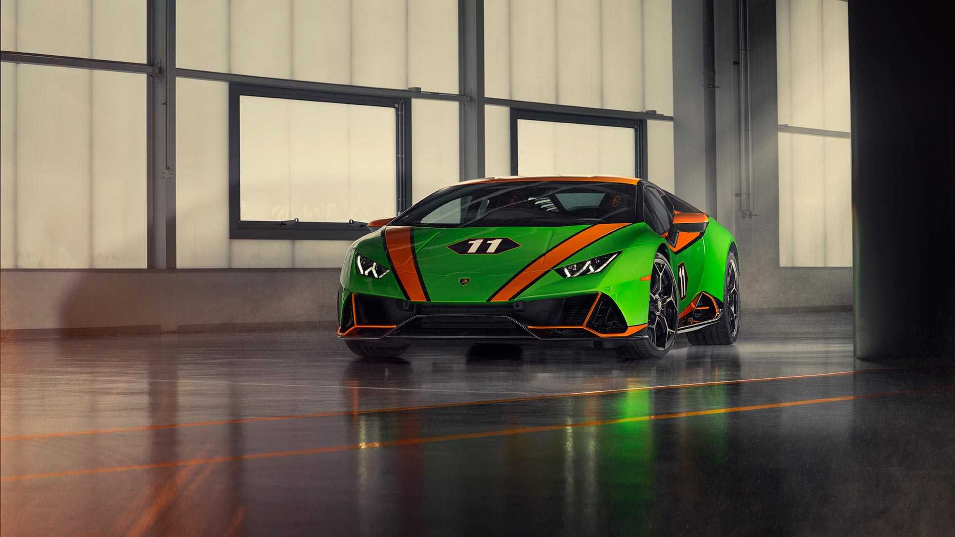 2020 Lamborghini Huracán EVO GT Celebration Front Wallpapers (1)