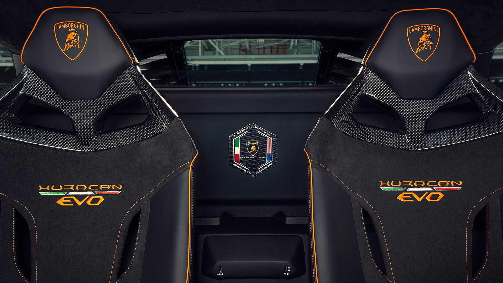 2020 Lamborghini Huracán EVO GT Celebration Interior Seats Wallpapers (13)