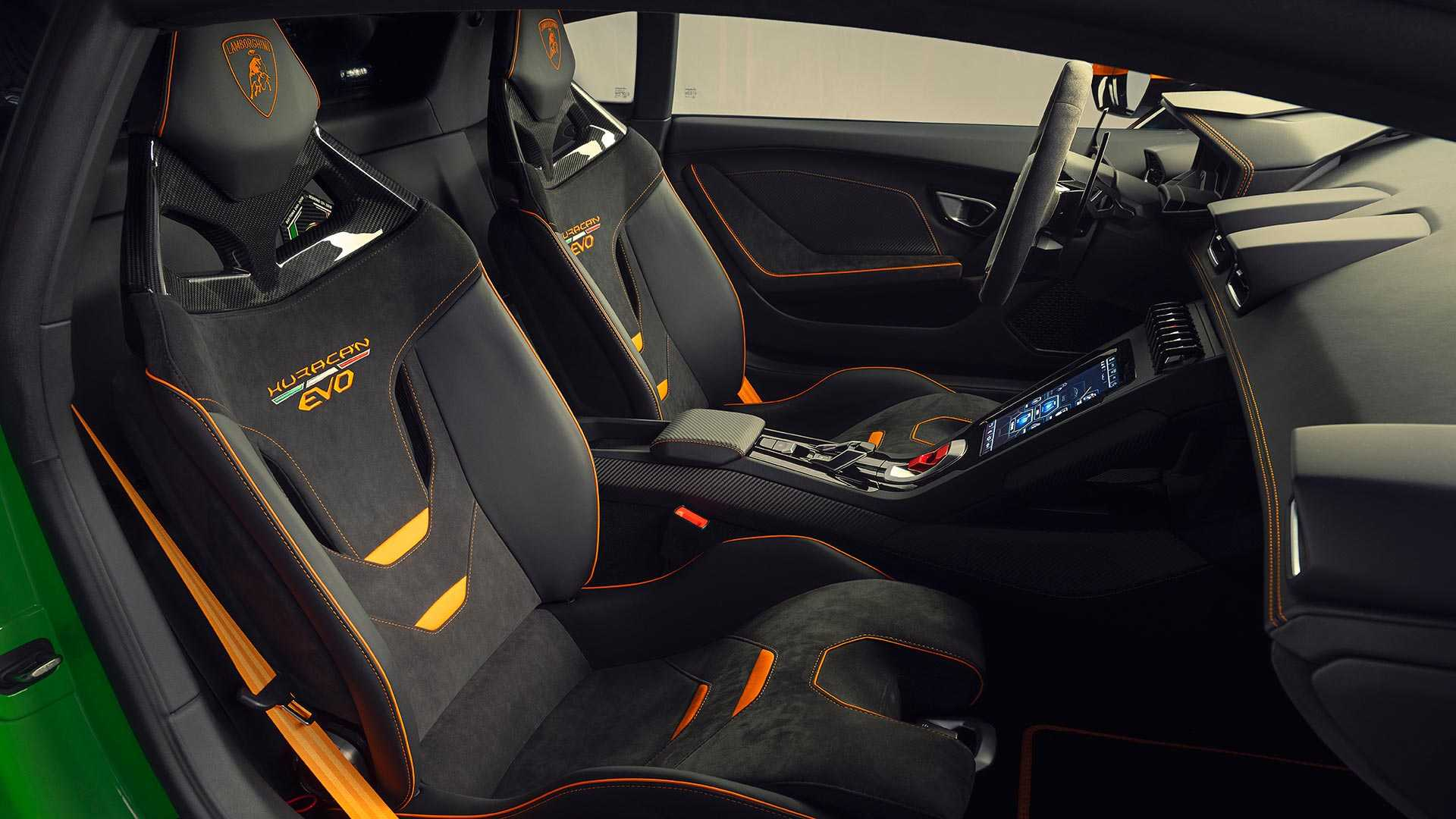 2020 Lamborghini Huracán EVO GT Celebration Interior Wallpapers (12)