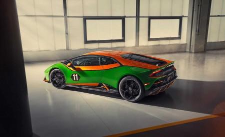 2020 Lamborghini Huracán EVO GT Celebration Rear Three-Quarter Wallpapers 450x275 (2)