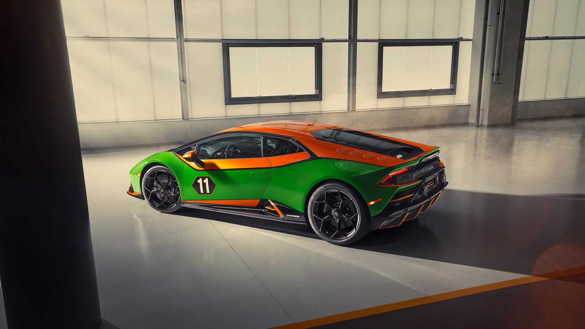 2020 Lamborghini Huracán EVO GT Celebration Rear Three-Quarter Wallpapers (2)
