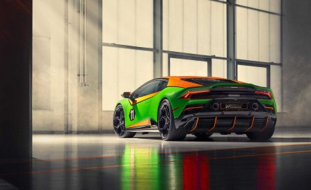 2020 Lamborghini Huracán EVO GT Celebration Rear Wallpapers 450x275 (4)