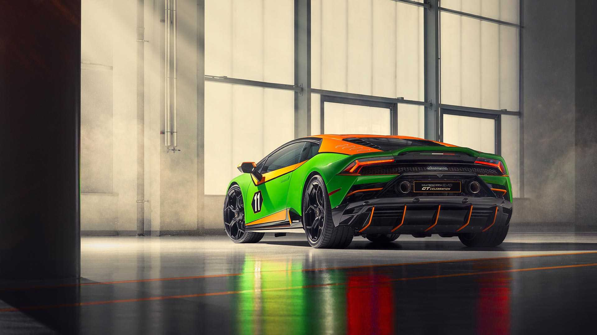 2020 Lamborghini Huracán EVO GT Celebration Rear Wallpapers (4)
