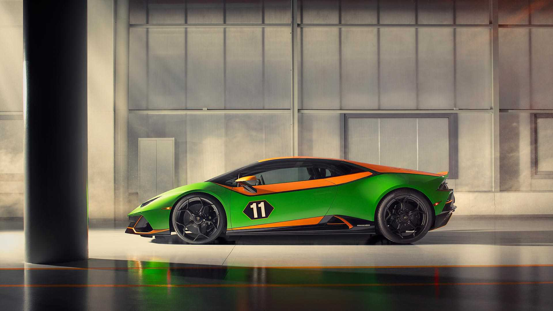 2020 Lamborghini Huracán EVO GT Celebration Side Wallpapers (5)