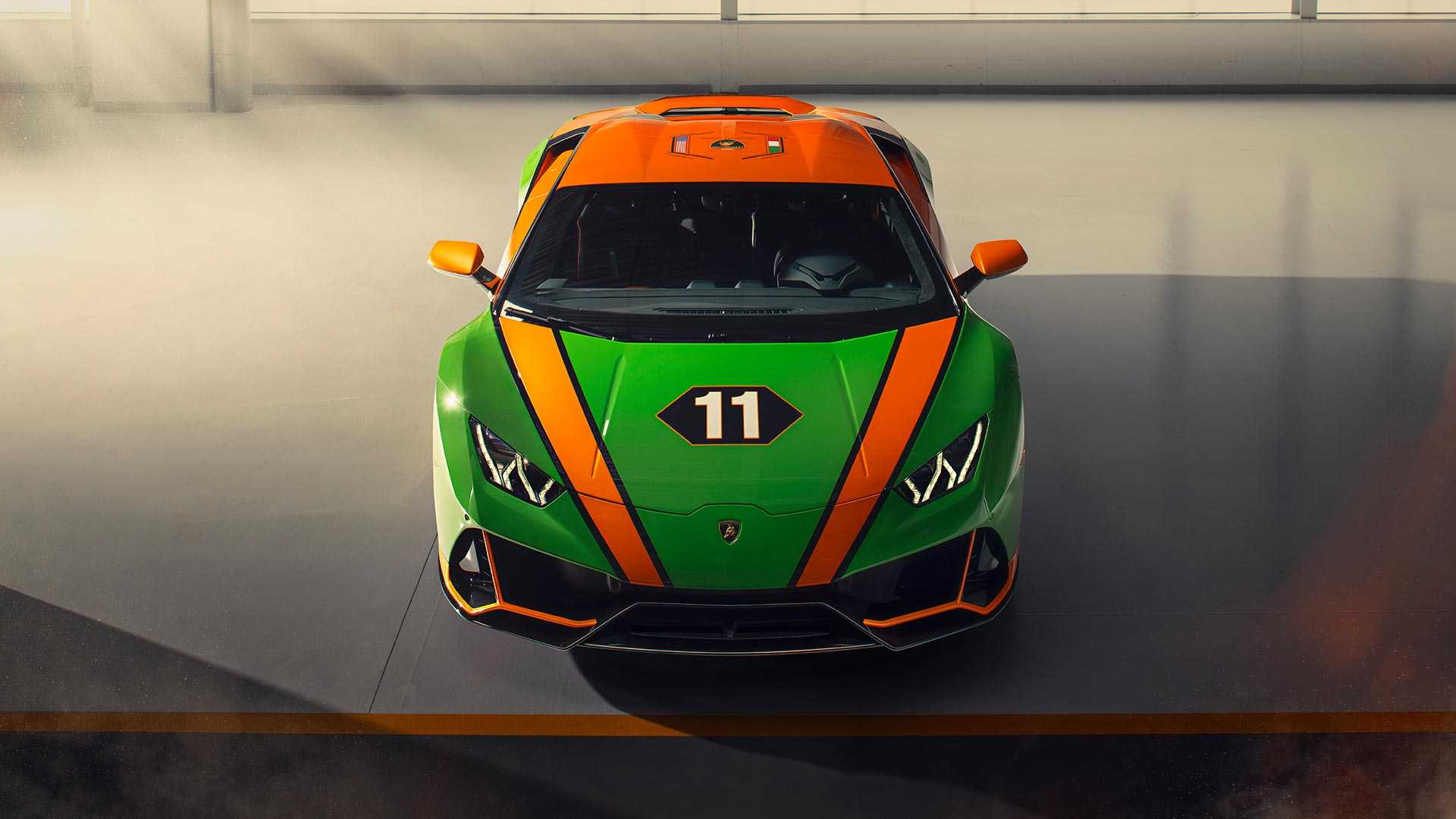 2020 Lamborghini Huracán EVO GT Celebration Top Wallpapers (6)