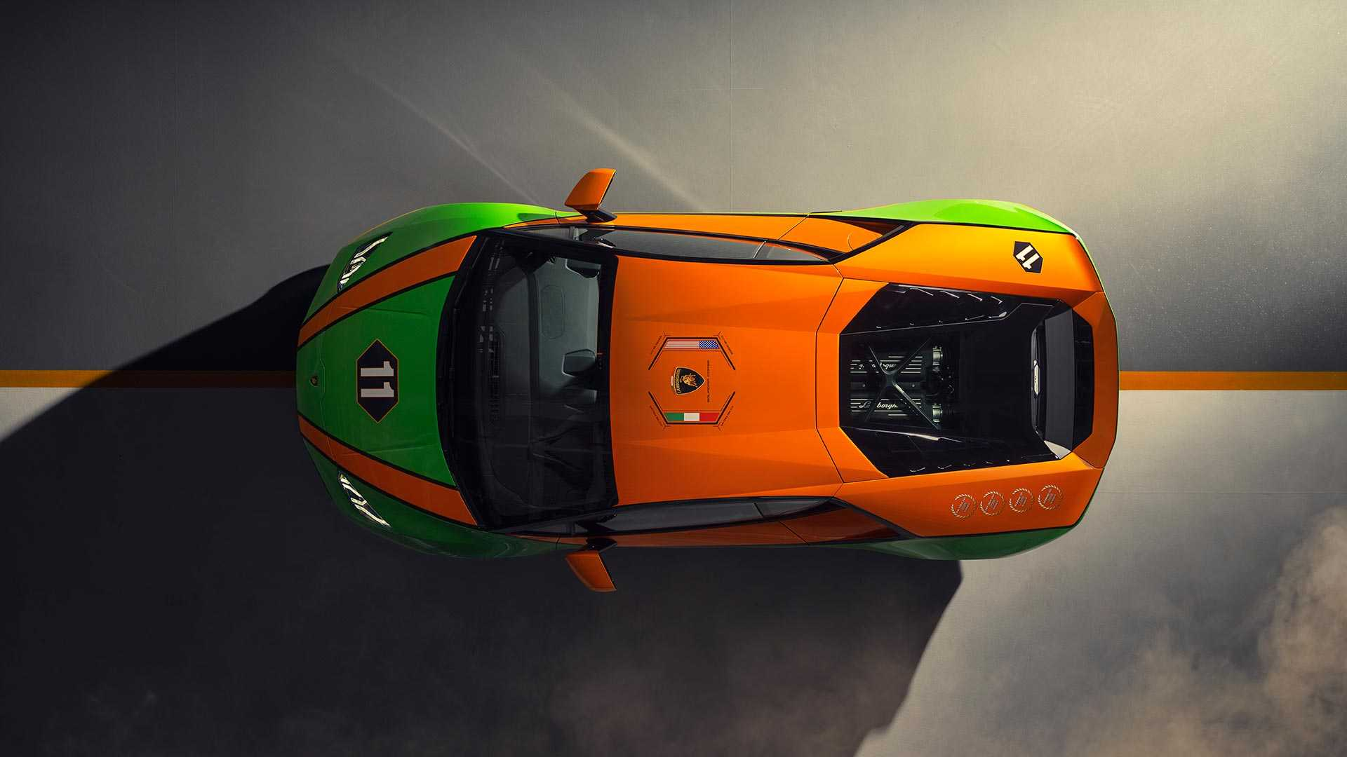 2020 Lamborghini Huracán EVO GT Celebration Top Wallpapers (7)