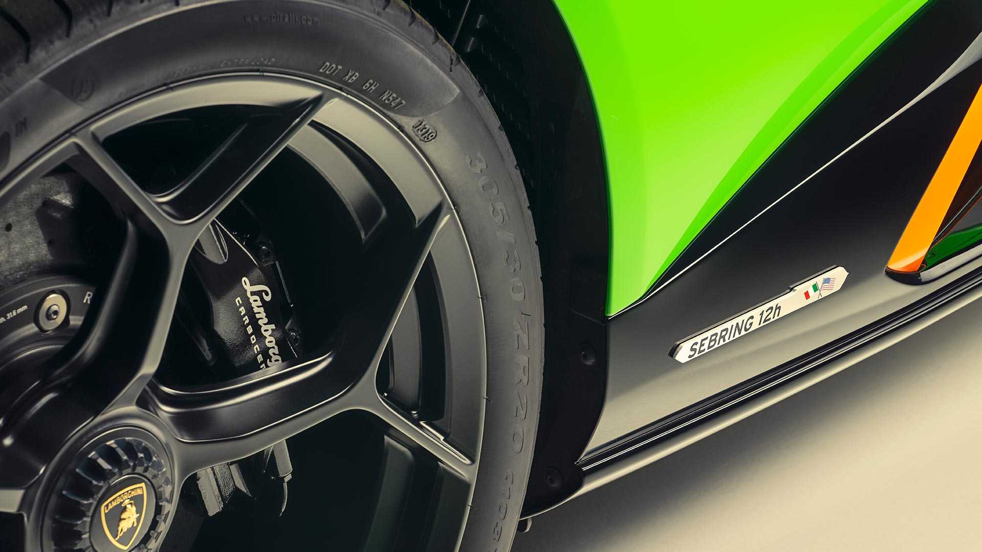 2020 Lamborghini Huracán EVO GT Celebration Wheel Wallpapers (10)