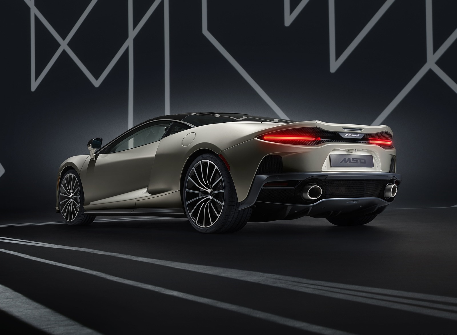 2020 McLaren GT by MSO Rear Three-Quarter Wallpapers (3)