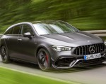 2020 Mercedes-AMG CLA 45 S 4MATIC+ Shooting Brake Front Three-Quarter Wallpapers 150x120 (1)
