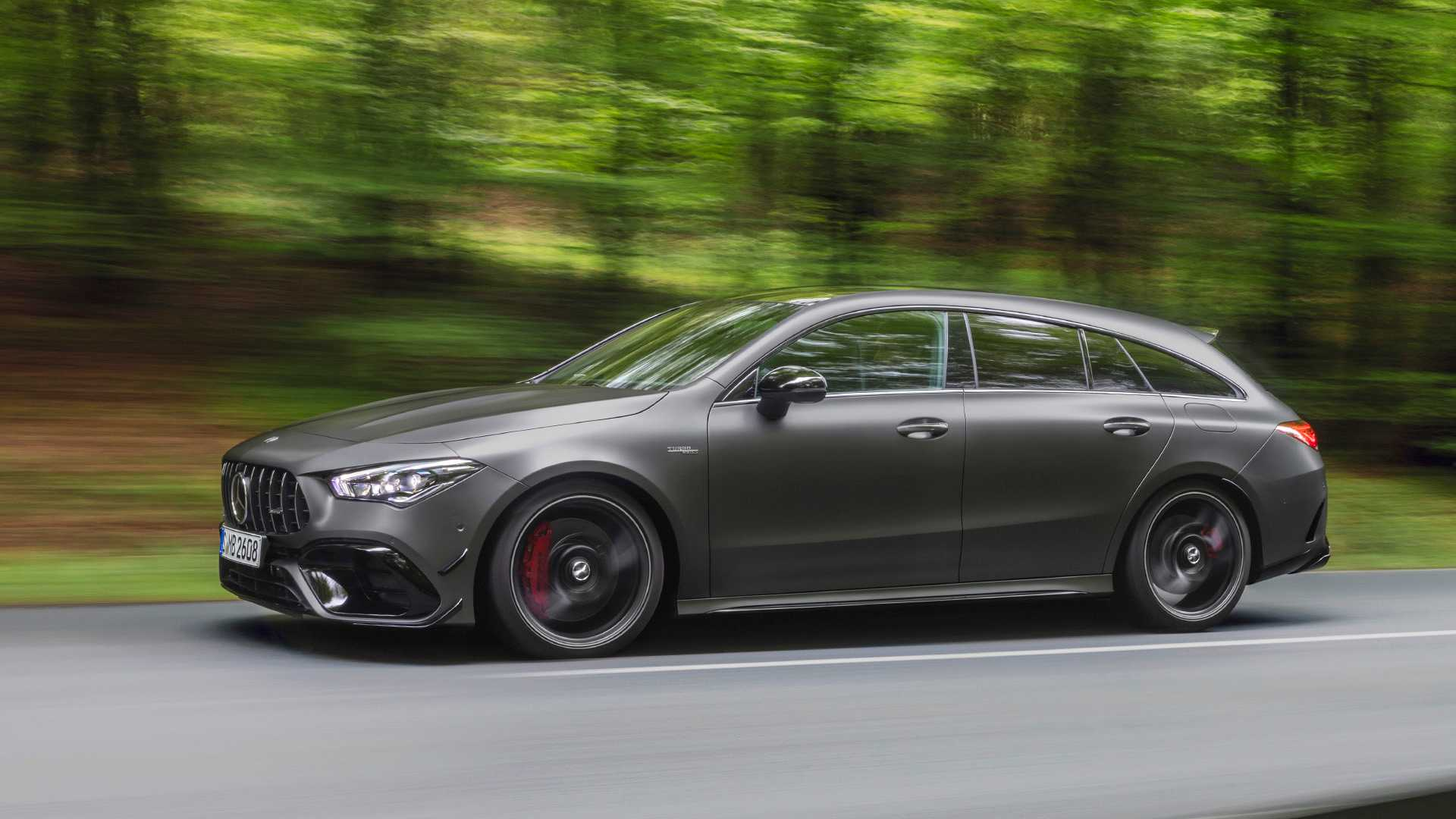 2020 Mercedes-AMG CLA 45 S 4MATIC+ Shooting Brake Front Three-Quarter Wallpapers (2)