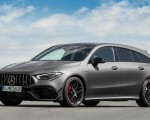 2020 Mercedes-AMG CLA 45 S 4MATIC+ Shooting Brake Front Three-Quarter Wallpapers 150x120 (14)