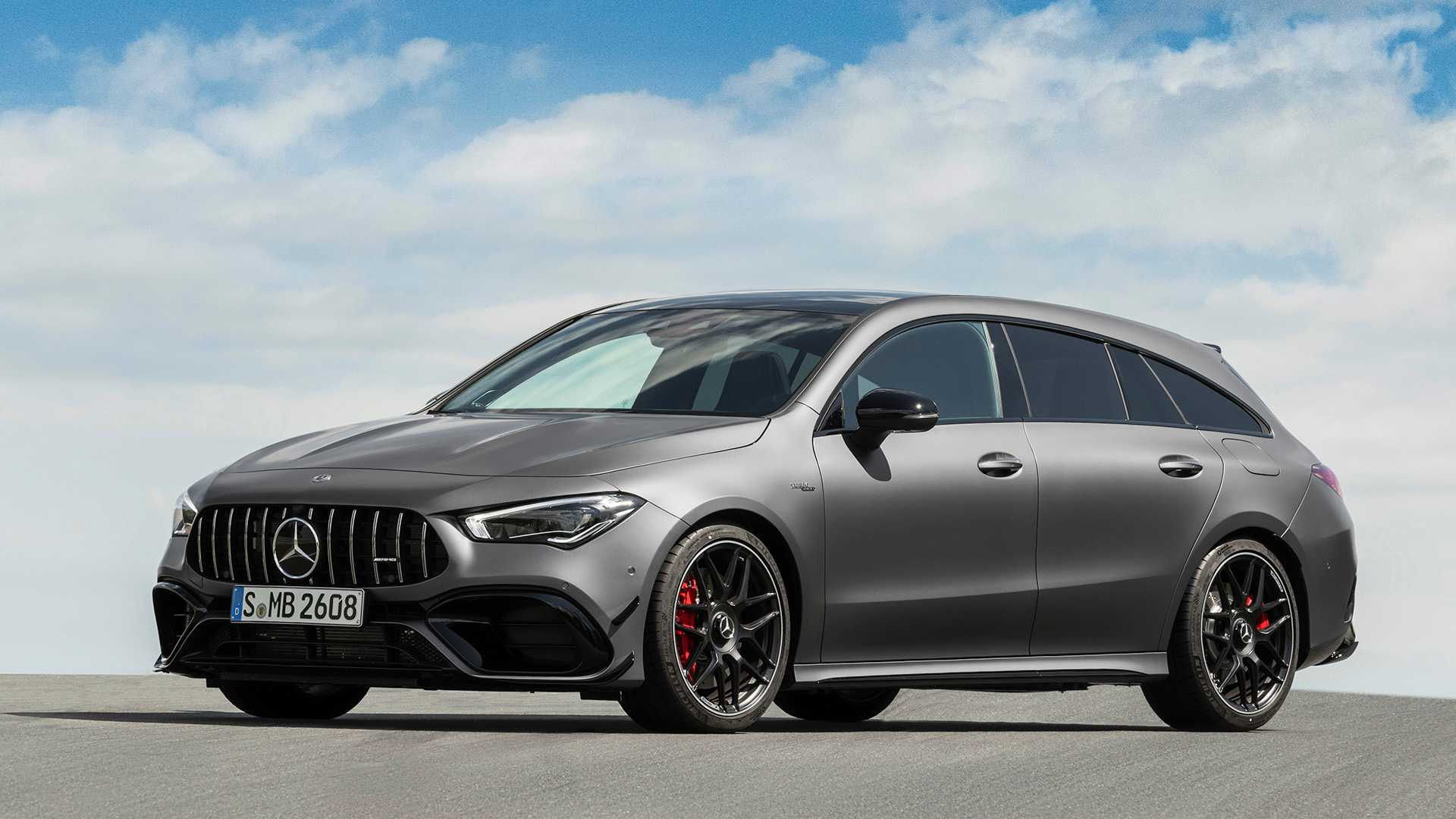 2020 Mercedes-AMG CLA 45 S 4MATIC+ Shooting Brake Front Three-Quarter Wallpapers (14)
