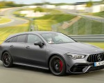 2020 Mercedes-AMG CLA 45 S 4MATIC+ Shooting Brake Front Three-Quarter Wallpapers 150x120 (10)