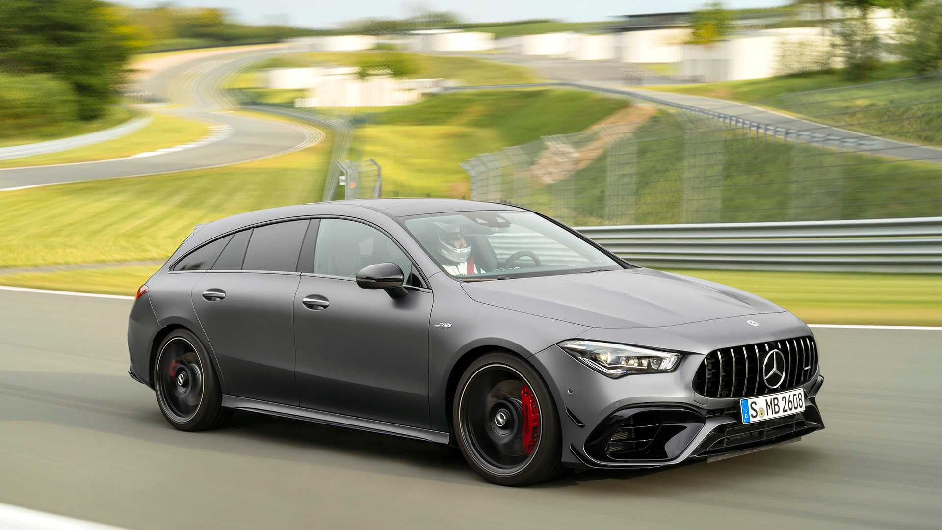 2020 Mercedes-AMG CLA 45 S 4MATIC+ Shooting Brake Front Three-Quarter Wallpapers (10)