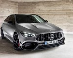 2020 Mercedes-AMG CLA 45 S 4MATIC+ Shooting Brake Front Wallpapers 150x120 (23)