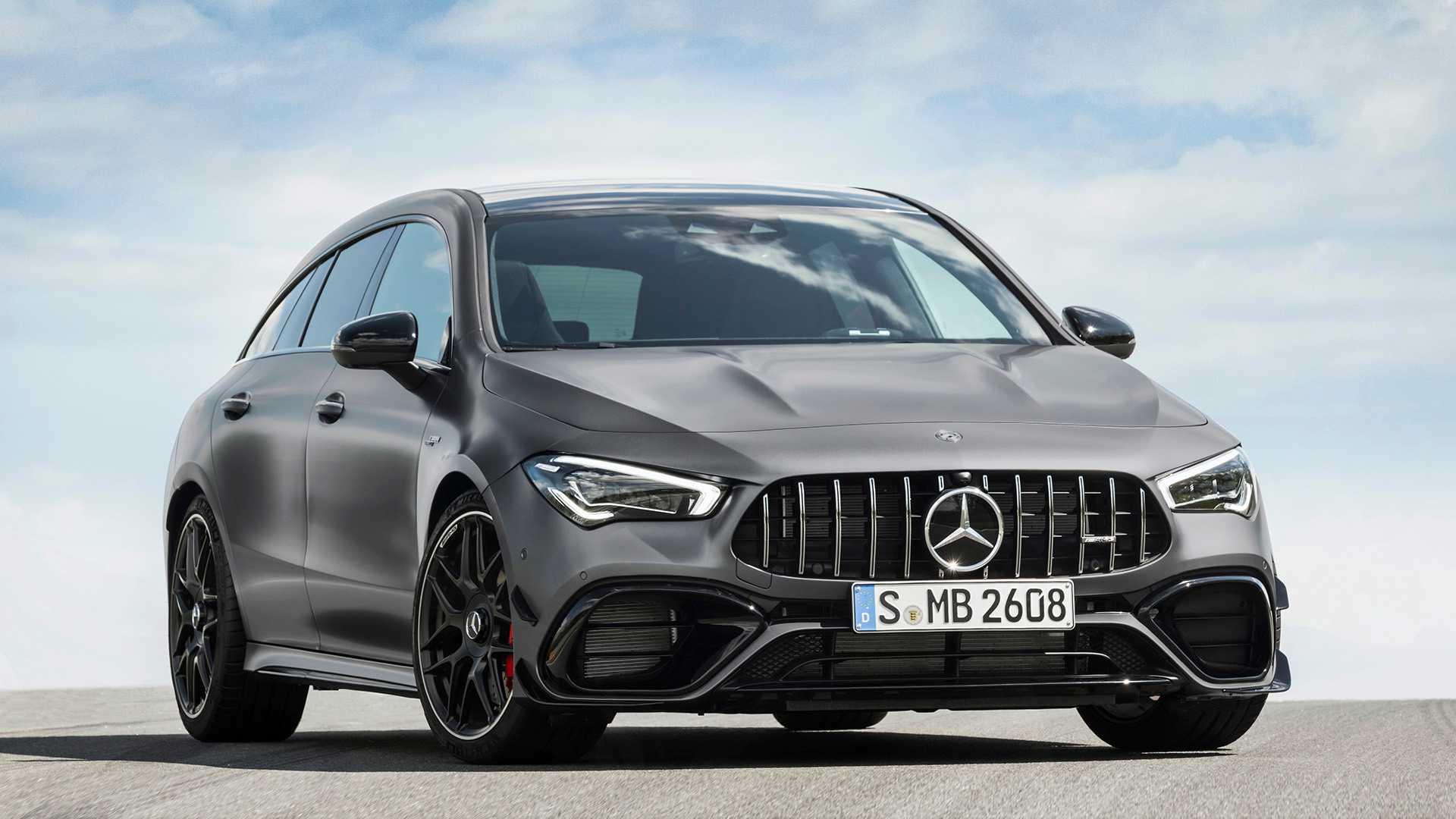 2020 Mercedes-AMG CLA 45 S 4MATIC+ Shooting Brake Front Wallpapers (15)