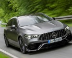 2020 Mercedes-AMG CLA 45 S 4MATIC+ Shooting Brake Front Wallpapers 150x120 (4)