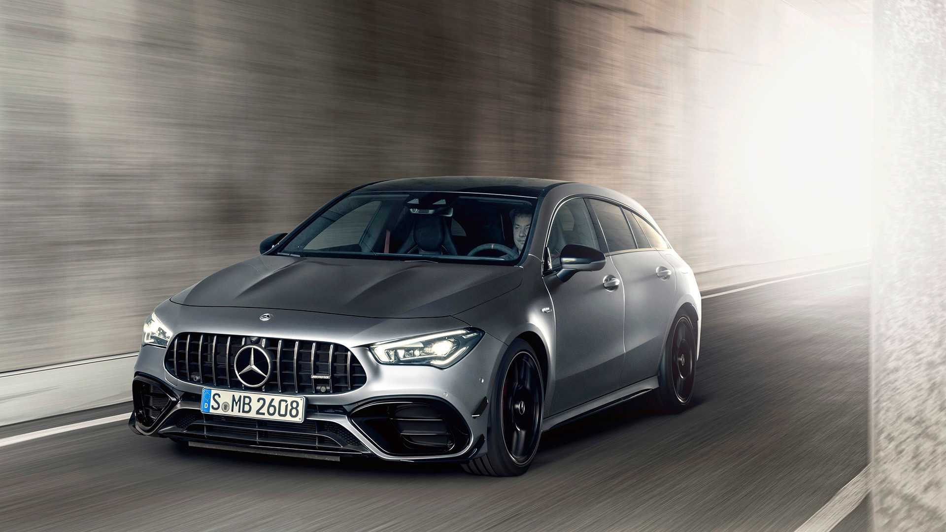 2020 Mercedes-AMG CLA 45 S 4MATIC+ Shooting Brake Front Wallpapers (11)
