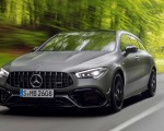 2020 Mercedes-AMG CLA 45 S 4MATIC+ Shooting Brake Front Wallpapers 150x120 (5)