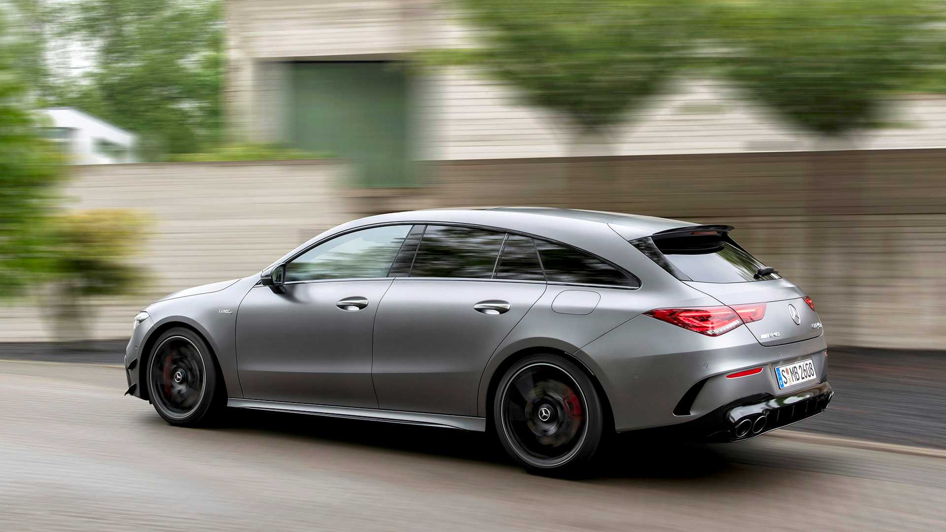 2020 Mercedes-AMG CLA 45 S 4MATIC+ Shooting Brake Rear Three-Quarter Wallpapers (12)