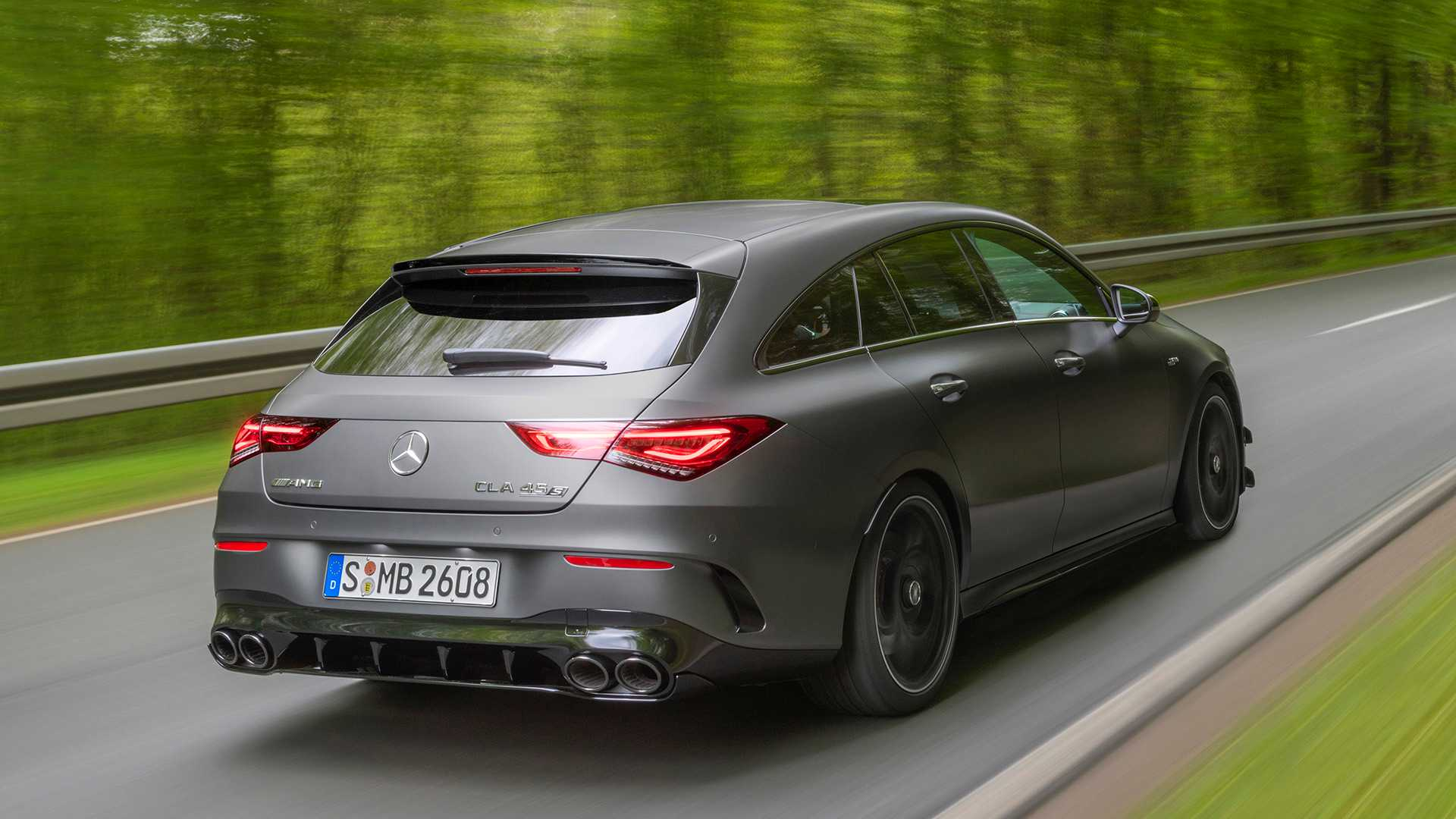 2020 Mercedes-AMG CLA 45 S 4MATIC+ Shooting Brake Rear Three-Quarter Wallpapers (6)