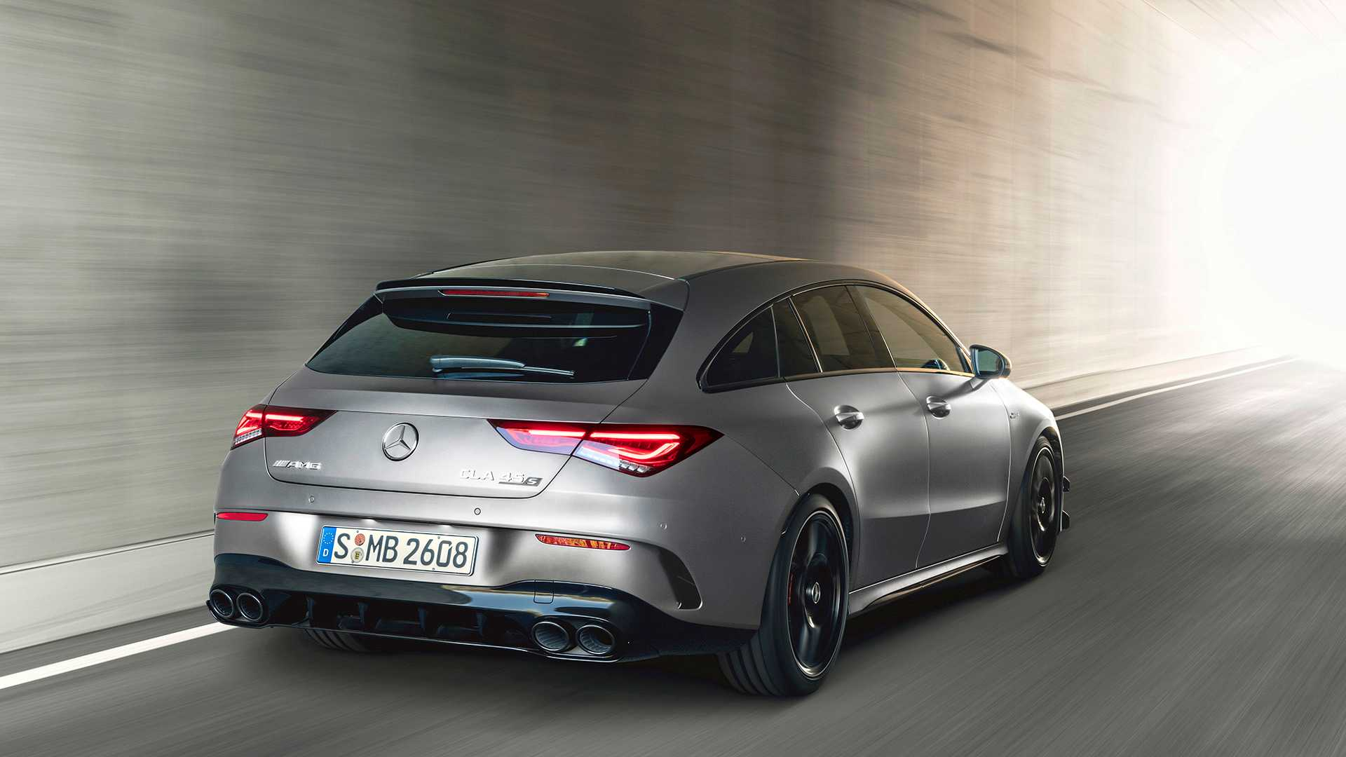 2020 Mercedes-AMG CLA 45 S 4MATIC+ Shooting Brake Rear Wallpapers (13)