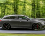 2020 Mercedes-AMG CLA 45 S 4MATIC+ Shooting Brake Side Wallpapers 150x120 (7)
