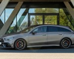 2020 Mercedes-AMG CLA 45 S 4MATIC+ Shooting Brake Side Wallpapers 150x120 (20)