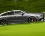 2020 Mercedes-AMG CLA 45 S 4MATIC+ Shooting Brake Side Wallpapers 150x120 (8)