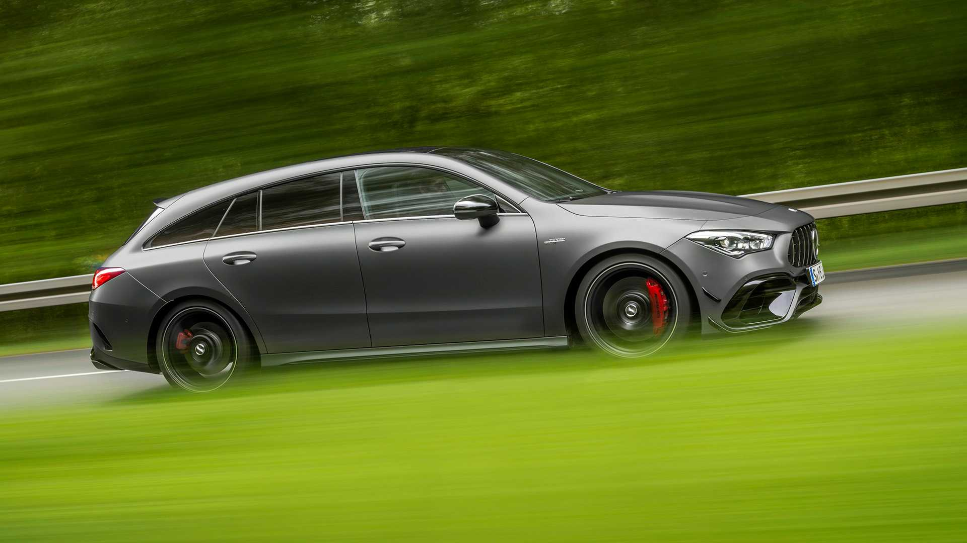 2020 Mercedes-AMG CLA 45 S 4MATIC+ Shooting Brake Side Wallpapers (8)