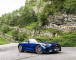 2020 Mercedes-AMG GT S Roadster (UK-Spec) Front Three-Quarter Wallpapers 150x120 (25)
