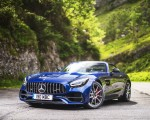 2020 Mercedes-AMG GT S Roadster (UK-Spec) Front Three-Quarter Wallpapers 150x120 (40)