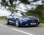 2020 Mercedes-AMG GT S Roadster (UK-Spec) Front Three-Quarter Wallpapers 150x120 (8)