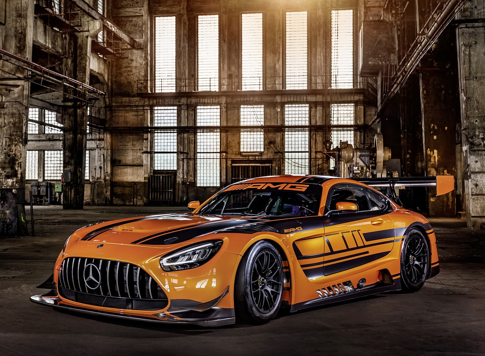 2020 Mercedes-AMG GT3 Front Three-Quarter Wallpapers (1)