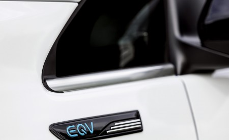 2020 Mercedes-Benz EQV 300 (Color:Mountain Crystal White Metallic) Detail Wallpapers 450x275 (23)