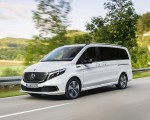2020 Mercedes-Benz EQV 300 (Color: Mountain Crystal White Metallic) Front Three-Quarter Wallpapers 150x120 (2)