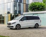 2020 Mercedes-Benz EQV 300 (Color:Mountain Crystal White Metallic) Front Three-Quarter Wallpapers 150x120 (17)