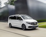 2020 Mercedes-Benz EQV 300 (Color: Mountain Crystal White Metallic) Front Three-Quarter Wallpapers 150x120 (3)