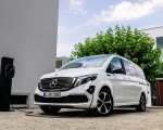 2020 Mercedes-Benz EQV 300 (Color: Mountain Crystal White Metallic) Front Three-Quarter Wallpapers 150x120 (12)