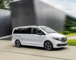 2020 Mercedes-Benz EQV 300 (Color: Mountain Crystal White Metallic) Front Three-Quarter Wallpapers 150x120 (5)