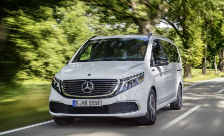 2020 Mercedes-Benz EQV 300 (Color: Mountain Crystal White Metallic) Front Wallpapers 450x275 (6)