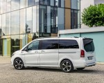 2020 Mercedes-Benz EQV 300 (Color:Mountain Crystal White Metallic) Rear Three-Quarter Wallpapers 150x120 (25)