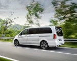 2020 Mercedes-Benz EQV 300 (Color: Mountain Crystal White Metallic) Rear Three-Quarter Wallpapers 150x120 (9)