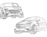2020 Mercedes-Benz EQV 300 Design Sketch Wallpapers 150x120 (34)