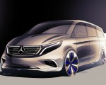 2020 Mercedes-Benz EQV 300 Design Sketch Wallpapers 150x120 (38)
