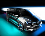 2020 Mercedes-Benz EQV 300 Design Sketch Wallpapers 150x120 (37)