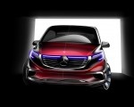 2020 Mercedes-Benz EQV 300 Design Sketch Wallpapers 150x120 (35)