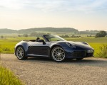 2020 Porsche 911 Carrera Cabriolet (Color: Gentian Blue Metallic) Front Three-Quarter Wallpapers 150x120 (38)