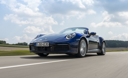 2020 Porsche 911 Carrera Cabriolet Wallpapers HD