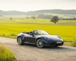 2020 Porsche 911 Carrera Cabriolet (Color: Gentian Blue Metallic) Front Three-Quarter Wallpapers 150x120 (35)